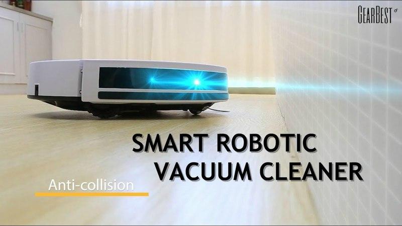 Robotic Vacuum Cleaner Ilife V7s Plus GearBest