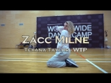 ZACC MILNE Teyana Taylor - WTP Worldwide Dance Camp 2018 Russia