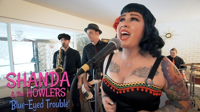 'Blue-Eyed Trouble' SHANDA THE HOWLERS (Viva Las Vegas) BOPFLIX SESSIONS