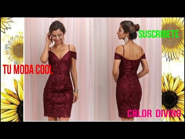 RED DRESSES FOR THIS CHRISTMAS**VESTIDOS ROJOS PARA ESTA NAVIDAD ELEGANTES Y EN MODA COOL