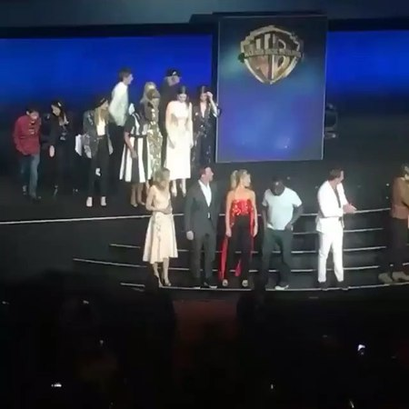 "@catebfan on Instagram: ""Thanks to @jooliie52 for the heads up All the stars of Warner Bros 2018 gathering on stage at cinemacon cateblanchett s..."