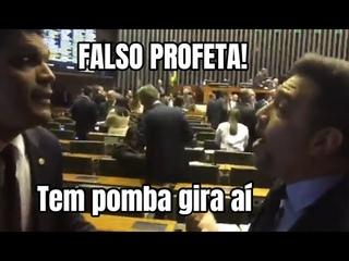Cabo Daciolo e Marco Feliciano batem boca no plenário da Câmara