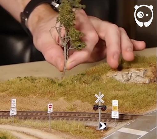 "Bored Panda on Instagram: ""Making of incredibly realistic scenery boredpanda art diorama miniature scaleart bouldercreekrailroad"""
