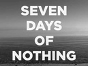 Seven Days of Nothing By Naomi Bedford Paul Simmonds