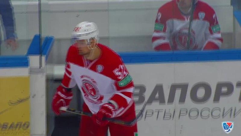 Моменты из матчей КХЛ сезона 14/15 • Удаление. Игорь Головков (Витязь) получил 520 минут штрафа 07.01