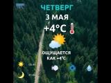 погода 3 мая