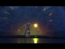 СКИлья Муромец в Виннице на лазерном фонтане ,(не спортом единым,так же любим зрелище вне татами)