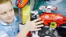 Трансформеры ОПТИМУС Прайм и ДИНОБОТ Рекс Мультик из игрушек для детей For kids
