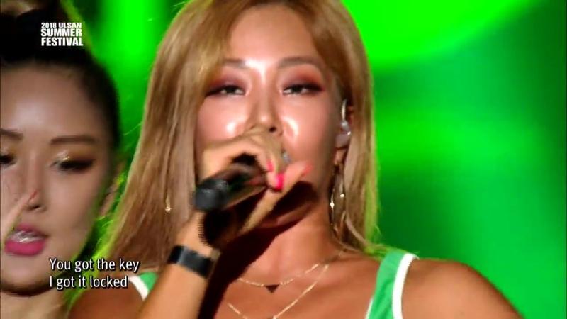 180725 Jessi - Down @ Ulsan Summer Festival
