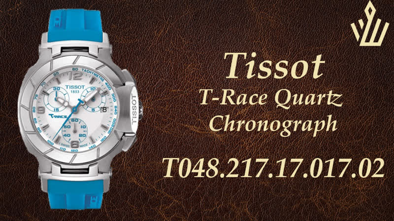 Женские часы Tissot T-Race Quartz Chronograph T048.217.17.017.02