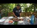 Сочный шашлык из стерляди в тонире Рецепт от Жоржа