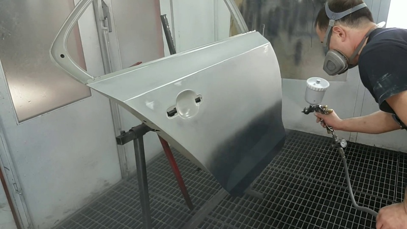 CLear coat PPG D8131 and non sanding primer PPG DP4000