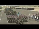 Боевой парад в честь Дня Защитника Отечества в Казахстане