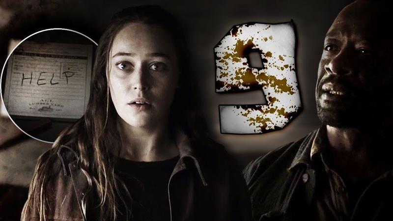 В ПОИСКАХ ПОПУТЧИКОВ Обзор серии Бойтесь Ходячих Мертвецов 4 сезон 9 серия 32