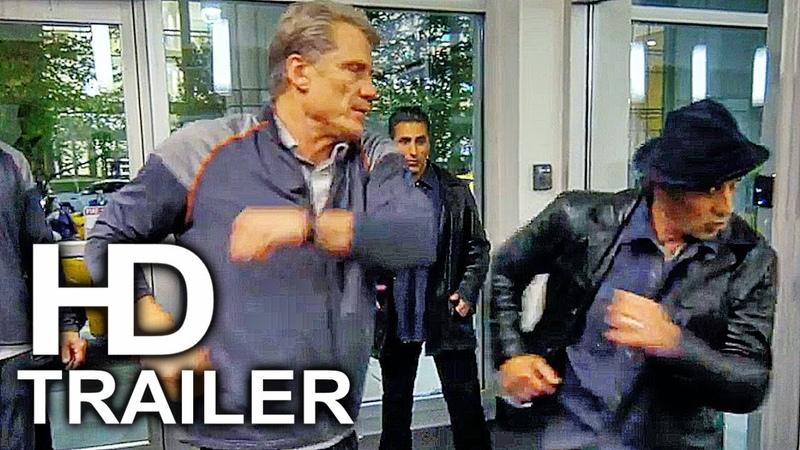 Дядьки CREED 2 Ivan Drago Vs Rocky Fight Scene BTS Clip Trailer 2018 Rocky Sylvester Stallone Movie HD