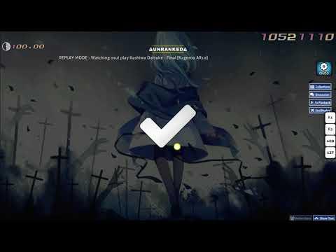 Kashiwa Daisuke - Final [Kagerou AR10] map review