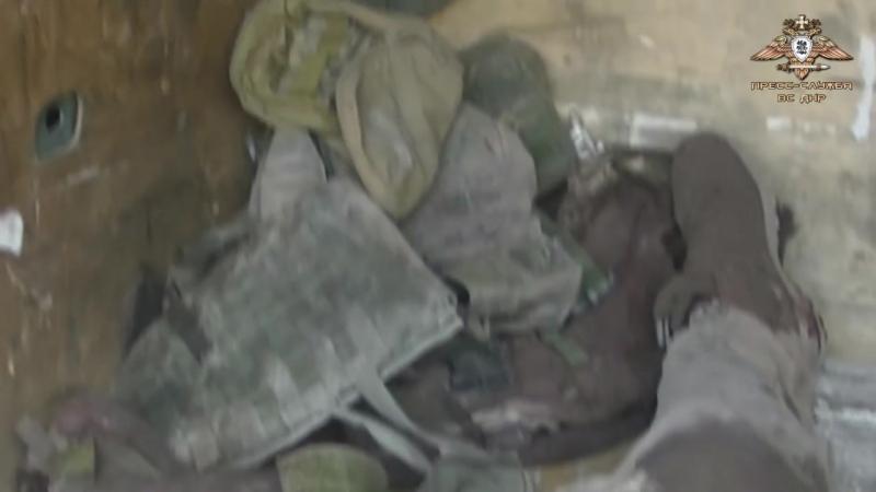 Трупы украинских боевиков доставлены в горловский морг