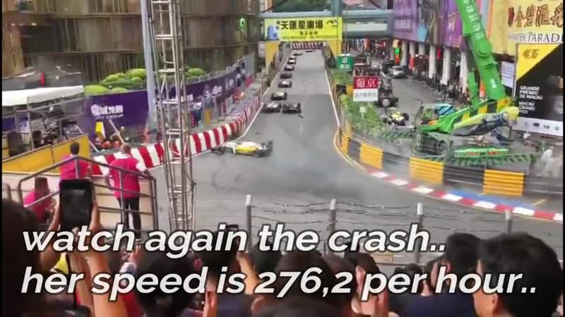 MACAUGP 2018 FLYING CAR Through The Air, Accident by Sophia Floersch ge