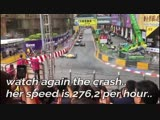 #MACAUGP 2018 FLYING CAR Through The Air, Accident by Sophia Floersch ge