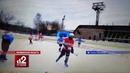 Арбитр избил ребенка до потери сознания во время хоккейного матча!