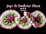 JOGO DE BANHEIRO DE CROCH