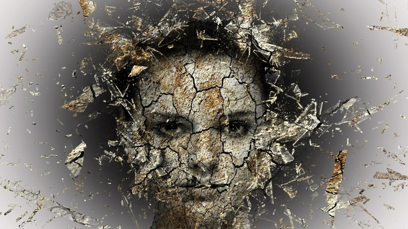 Photoshop tutorial | crack face Disintegration effect photoshop cc