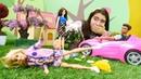 Barbie oyunu. Barbie çöpleri neden yere atıyor?