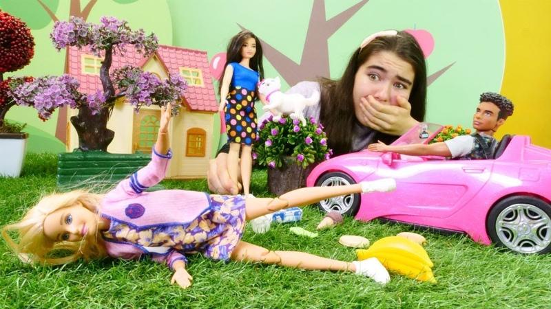 Barbie oyunu. Barbie çöpleri neden yere atıyor