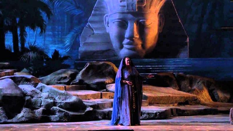 [HD] Nile scene. O patria mia - Violeta Urmana (from Verdi's Aida)