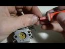 Замена ускорительного насоса карбюратора бензопилы STIHL MS 250