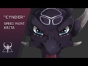 Speed Paint ★ ,, CYNDER,, ★ drawing ( Krita)