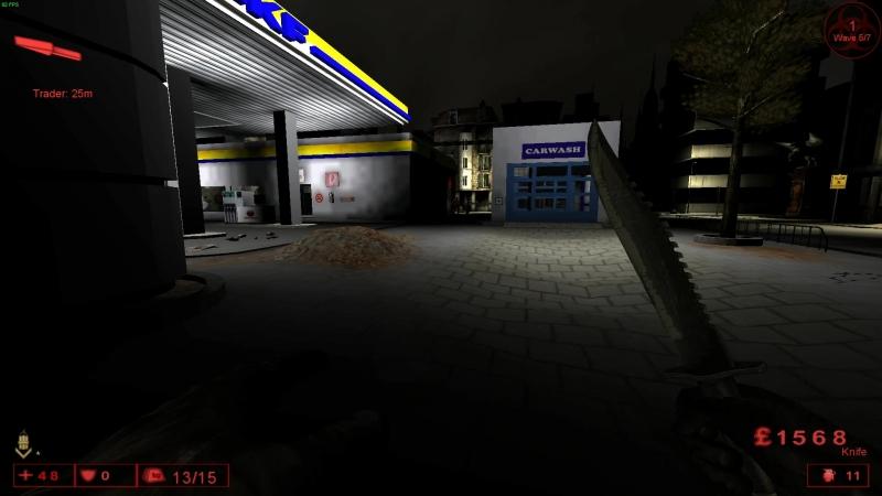 Игра команды X3 (Икс три) на KF-Arkade-GasStation-v1