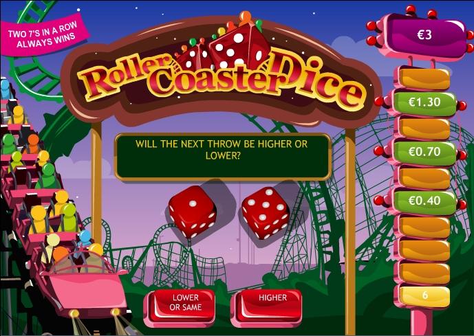 Вулкан: Игровые автоматы Roller Coaster Dice