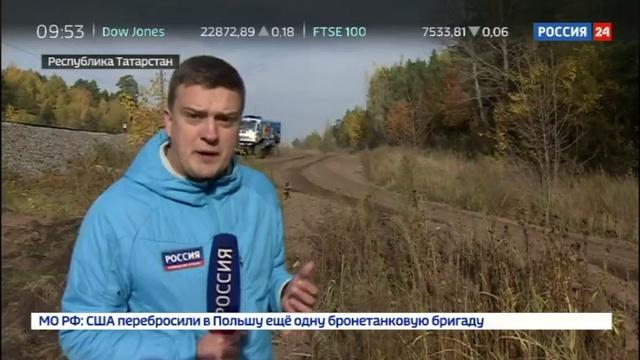 Новости на Россия 24 Гоночный грузовик КАМАЗ мастер проходит апгрейд