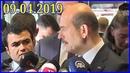 İçişleri Bakanı Süleyman Soylu'nun Açıklamaları 09.04.2019