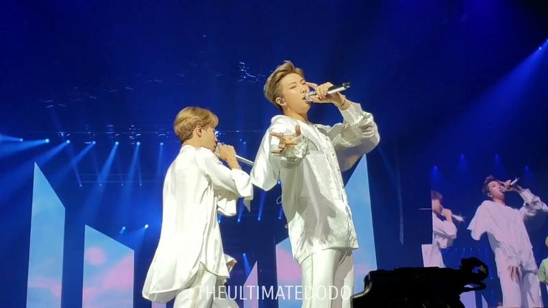 180920 Run @ BTS 방탄소년단 Love Yourself Tour in Hamilton Fancam 직캠
