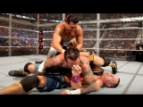 (WWE Mania) Hell in a cell 2011 John Cena vs CM Punk vs Alberto Del Rio - WWE Championship ( Hell in a Cell Match)