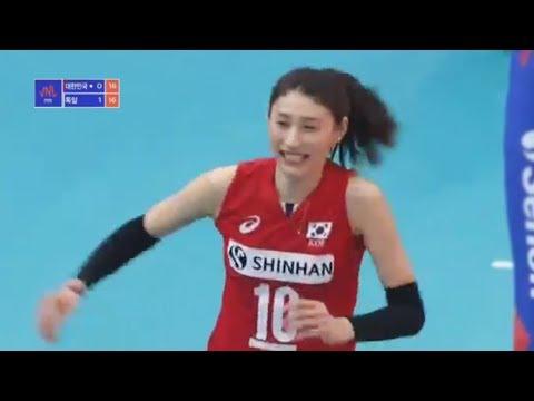 Korea v Germany— Full Highlights   2018 Volleyball Nations League Women's
