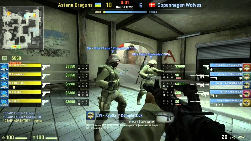ADragons vs CPH Wolves map 2 dust2 ESWC 2013 Playoffs