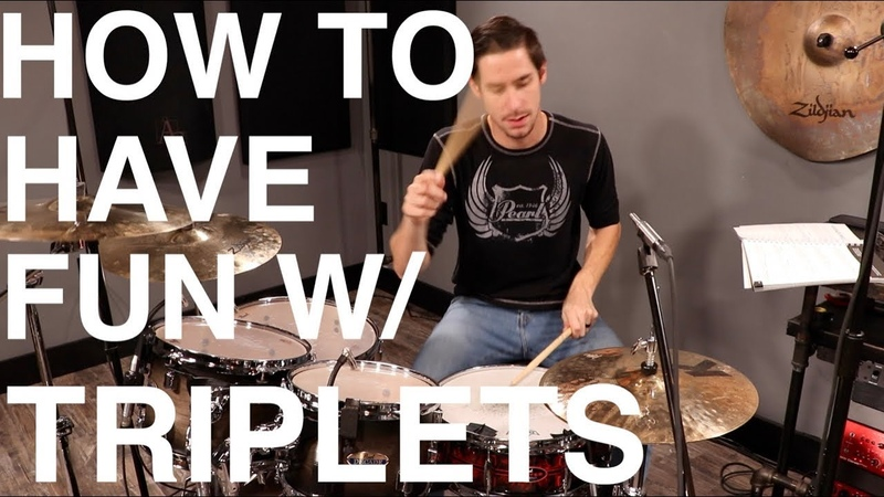 How To Have Fun with Triplets! - Free Drum Lesson