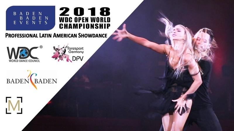Pashkov - Karagach, USA | 2018 WDC Pro WCH SD LAT - Baden Baden, GER - SF
