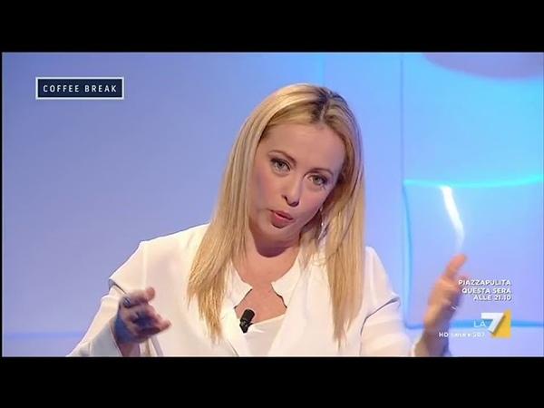 Intervista a Giorgia Meloni (Fratelli dItalia) Italia fuori controllo, nella mia Italia non ...