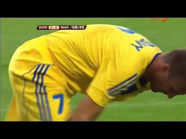 19.08.2010 Лига Европы 4 раунд 1 матч БАТЭ (Борисов, Белоруссия) - Маритиму (Фуншал, Португалия) 3:0