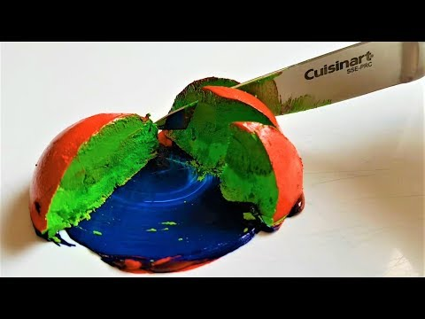 Oddly Satisfying Paintmixing Compilation | ASMR Colorful Paintmixing