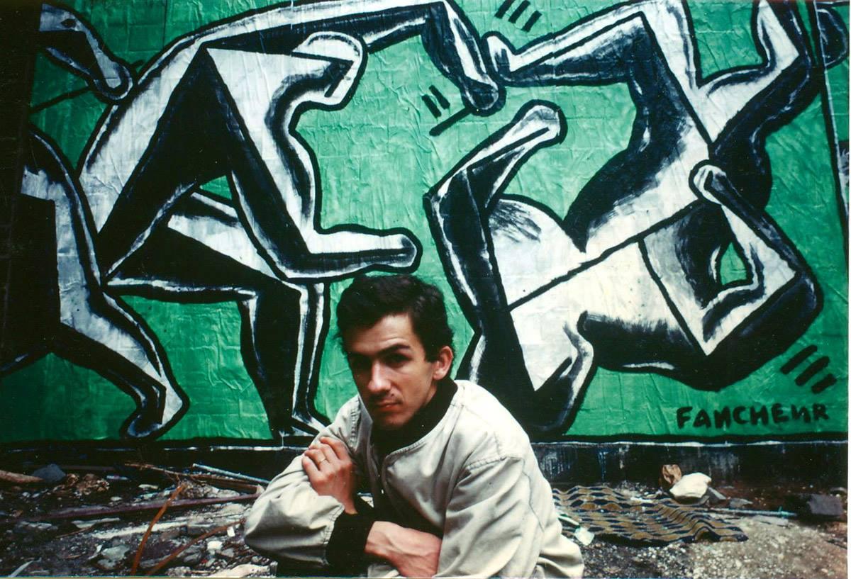 Французская сцена уличного искусства 80-х