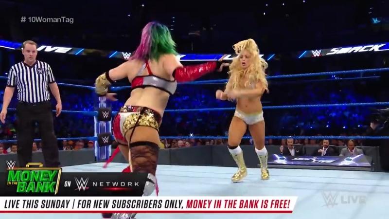 Ten-Woman Tag Team Match_ SmackDown LIVE, June 12, 2018