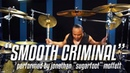 Michael Jackson's Drummer Jonathan Moffett Performs Smooth Criminal On Drumeo