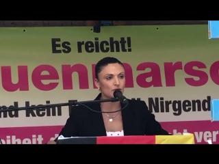 Abschlussrede von Leyla Bilge auf dem Frauenmarsch vom 09-06-2018