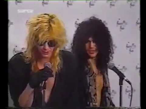 GNR : Slash Duff McKagan Drunks (1991)