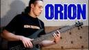 Metallica Orion bass cover solo Cliff Burton tribute free tabs on AndriyVasylenko